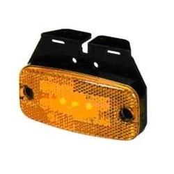 Fanale Laterale Hella LED 24V CON SUPPORTO , 2 led laterali