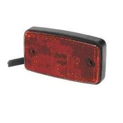 Fanale posteriore LED 24V, 4 led centrali