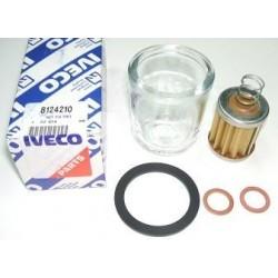 Kit filtro bicchiere vetro Iveco 190
