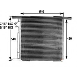 Condensatore Daf XF