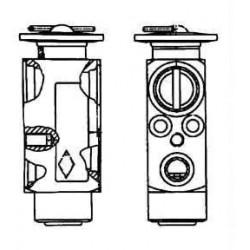 Expansion valve Daf 95 XF 01/97-09/02
