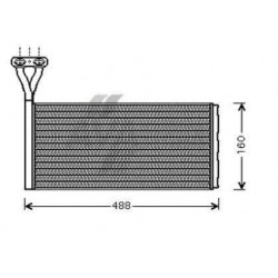 O-RING x montaggio radiatore riscaldam. Scania 124-144