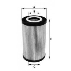 Oil filter A3/A4 GALAXY PASSAT GOLF IV / BORA 1.9 TDI engines-SDI