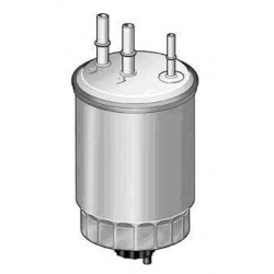 Fuel filter 3 tubes FORD FOCUS TD 90 hp