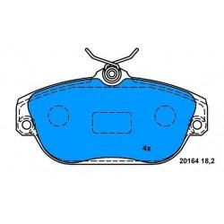 Front Brake pads VOLVO 740-940 960 VOLVO V90-S90