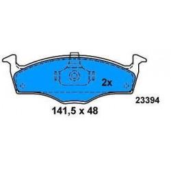 Front Brake pads AUDI A2 1.2 TDI