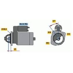 Motorino avviamento Fiat Ducato 2.3 Multijet