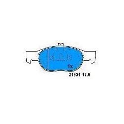 Front brake pads FIAT PUNTO 93 1.7 TD FIAT PUNTO 99 1.2 16V LANCIA Y