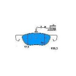 Front brake pads FIAT BRAVO/A-MAREA 1.9 JTD PUNTO 1.3 MULTIJET