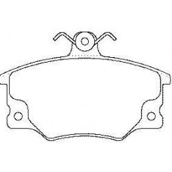 Front brake pads FIAT UNO TD TIPO TEMPRA ALFA 146