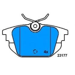 Rear brake pads ALFA 145-146-155-MAREA-DEDRA-DELTA
