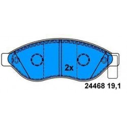 Front brake pads DUCATO SINCE 2006