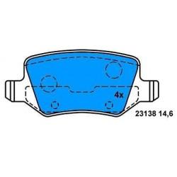 Rear Brake pads Class A Class B