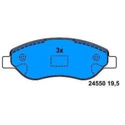 Front brake pads CORSA D 1.7 CDTI since 2006