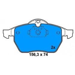 Front brake pads OPEL CALIBRA/VECTRA/SAAB 900