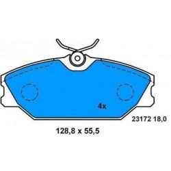 Front Brake pads MEGANE 1.9 dCi