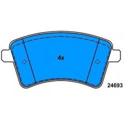 Front Brake pads KANGOO from 2008