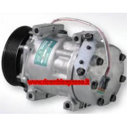 Compressor SCANIA 94/124/144 PULLEY POLY V