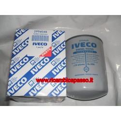 filtro gasolio sul motore IVECO STRALIS