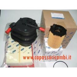 kit 3 filtri originali FIESTA C3 MOTORI 1.4