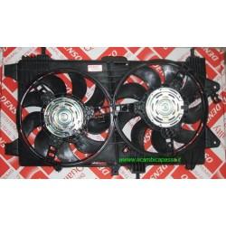 elettroventola radiatore FIAT PUNTO IDEA MUSA 1.9 JTD