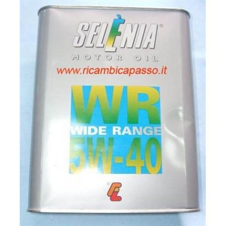 lattina da 2 litri olio selenia WR diesel 5W30