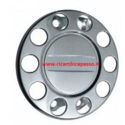 disco inox 10 fori chiuso per cerchio in ferro
