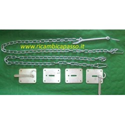 kit tendi catena fermacarichi completo per cassoni
