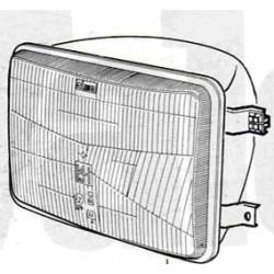 Proiettore Iveco 115/135/145 Senza ghiera Dx