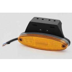 Fanale Laterale LED 24V , 3 led centrali