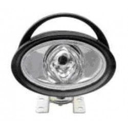 Faretto lavoro ovale Fissaggio a staffa lampada H3