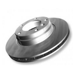 Pair of brakes disc Fiat Scudo Expert Jumpy d.257