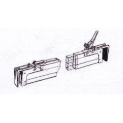 Load stops for curved pliers