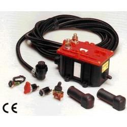 ADR DETACH THE NEGATIVE 24V battery switch