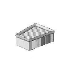 Air filter Polo / Cordoba 1.4-1.9 TDI from 2001 to 2005