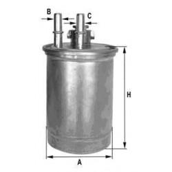 Fuel filter FORD FOCUS 2 tubes