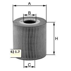 Oil filter Class A