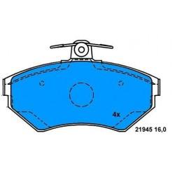 Front Brake pads GOLF III 1.9 TD LUPO/POLO 1.4 TDI VENTO 1.9 TD