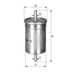 0.8 Smart CDI diesel filter