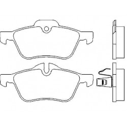 Front brake pads MINI ONE