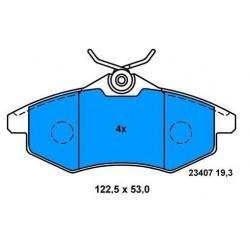 CITROEN C2/C3 front brake pads since 2002 (small)