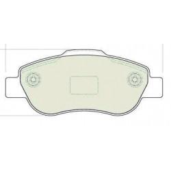 Front brake pads FIAT PANDA MULTI JET
