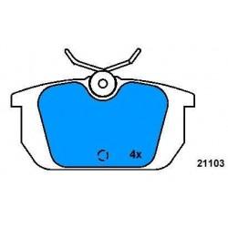 Rear brake pads ALFA 145-146