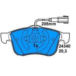 Front brake pads ALFA 159