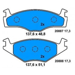 Front Brake pads GOLF/POLO/JETTA