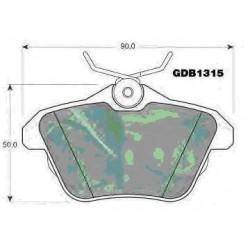 Rear brake pads ALFA 156/166 LANCIA KAPPA