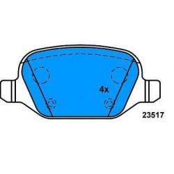 Rear brake pads ALFA 147 ALFA 156 LYBRA