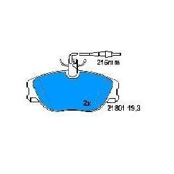 Front brake pads ULYSSE/SCUDO