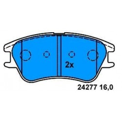 Front Brake pads ATOS