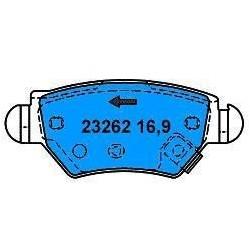 Rear Brake pads ASTRA G/ZAFIRA